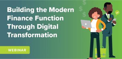 Building the Modern Finance Function through Digital Transformation